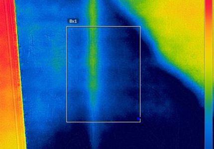 Entreprise recherche fuite camera thermique