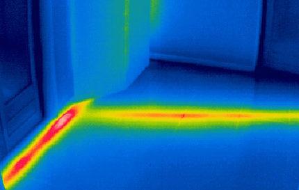 Entreprise recherche fuite thermographe