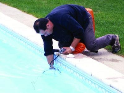 recherche de fuite piscine