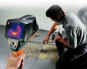 inspection par caméra thermique